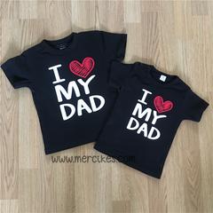 I love Mama / Papa Muts Shirtjes
