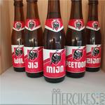 peter vragen met bier, gepersonaliseerde bierstickers