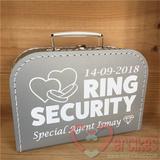 koffer security huwelijk kind