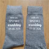 sokken papa bruid bedrukt