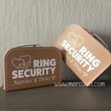 Orgineel huwelijksidee voor je bruiloft, ringsecurity koffer van mercikes.com