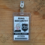 ringsecurity badge met clip