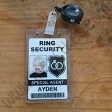 badge ringsecurity agent met jojo clip