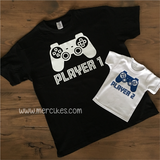 matching shirt vader zoon player 1 player 2