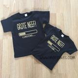 t-shirt ik word grote neef, grote neef loading, idee zwangerschap aankondigen