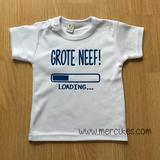 shirtje geboorte aankondigen grote neef loading