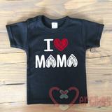 cadeau voor kersverse mama, t-shirt i love mama