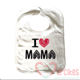zwart slab i love mama