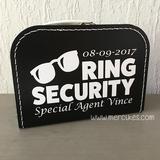 Complete Set Ring Security! Zonnebril met naam_
