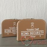 leuk idee ringen dragen huwelijk, orgineel idee bruiloft