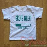 t-shirt voor de grote neef, laat hem stoer de zwangerschap aankondigen