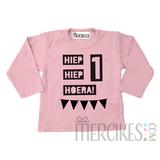 Shirtje Hiep Hiep Hoera met Leeftijd_