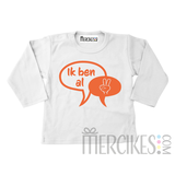 Verjaardag Shirtje Tekstballon Ik ben al ..._