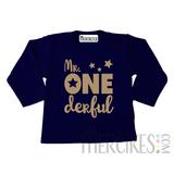 Shirt mr onederful ster - Lange mouw_