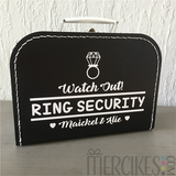 Koffer Watch Out Ring Security!_