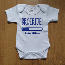 Broertje loading... - Gender Reveal body