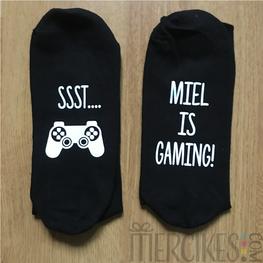 Sokken voor gamer - Naam is gaming