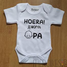 Romper Baby Hoera Jij wordt Opa