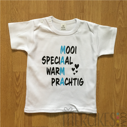 Shirtje M.A.M.A Zoon, speciaal shirtje voor mama