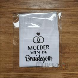 Zakdoek Bruiloft - Moeder Bruidegom