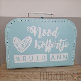 Noodkoffertje voor de bruid