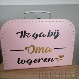 Koffer Ik ga bij Oma / Opa logeren