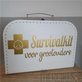Koffer Survivalkit voor Grootouders