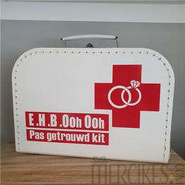 Koffertje EHBO Pas getrouwd kit