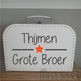 Koffer Grote Broer met Naam