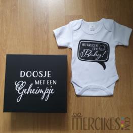 Wij krijgen een baby! met luxe doos