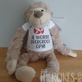 Slingeraap - Je/U wordt Overgrootopa / Overgrootoma