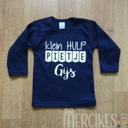 Sint Shirt Hulp Piet met Naam