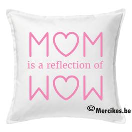 Kussenhoes Reflection Mom