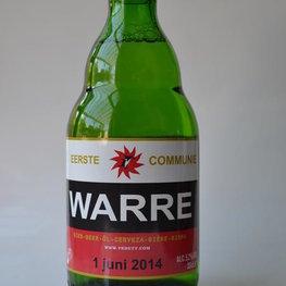 Bier etiketten met Naam
