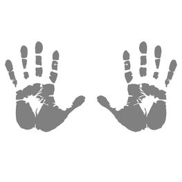 Stickerset Handafdrukken