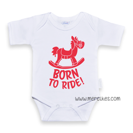 Romper / Body Born to Ride