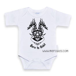 Stoere Romper Born to Ride