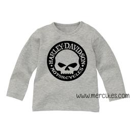 Stoer Shirtje Harley Davidson Skull