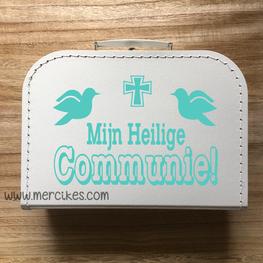 Herinneringskoffer Mijn Heilige Communie