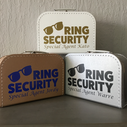 Koffertje Ring Security Special Agent