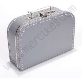 Blanco Koffertje Zilver