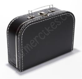 Blanco Koffertje Zwart