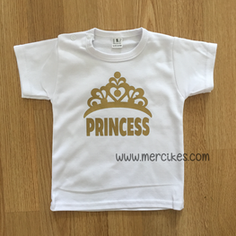 Shirtje Princess met Kroon