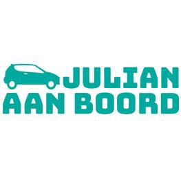 Auto sticker aan boord- Auto met Naam