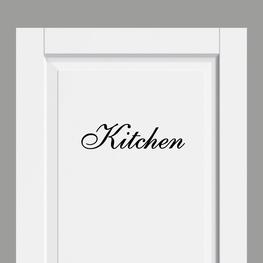 Deursticker Landelijk Kitchen