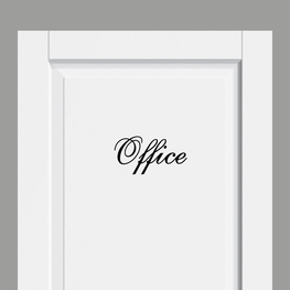 Deursticker Landelijk Office