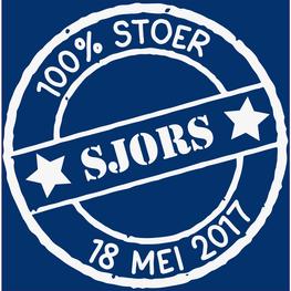 Losse Sticker Krukje 100% Stoer met Datum