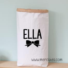 Paperbag Naam Meisje