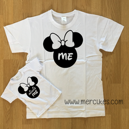 Set T-shirts Me en Mini Me Minnie Mouse