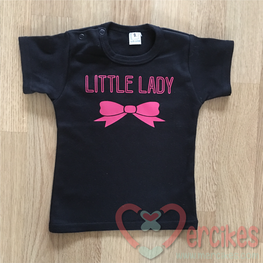 Shirtje Little Lady Strikje